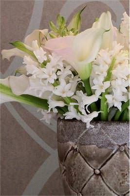 Beautiful floral arrangement for high end events by Kaitlyn Jones Floral Design